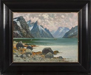 Fjordmotiv by Conrad SELMYHR