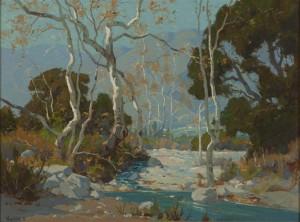 Santa Anita Canyon by Elmer WACHTEL