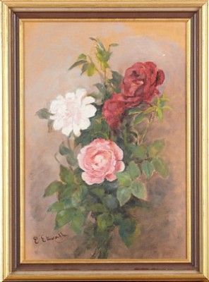 Stilleben Med Rosor by Emma EKWALL
