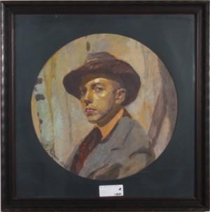 Porträtt Av Ralf Wendt (1894-1946) by Spiros Georg XENOS