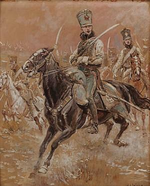 Kavallerist by Alphonse LALAUZE