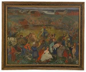 Bacchi Sjö by Ivar AROSENIUS