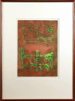 Motiv Med Rådjur by Ernst BILLGREN