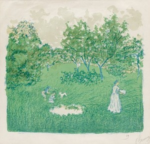 Le Verger (the Orchard) by Pierre BONNARD