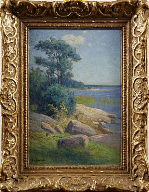 Applarö, Strandbild by Elias ERDTMAN
