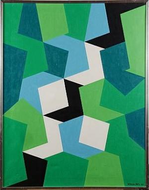Färgspel Ii by Wilhelm WIK