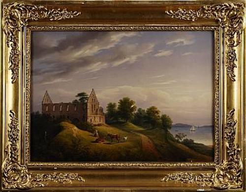 Wisingsborg by Carl Abraham ROTHSTÉN