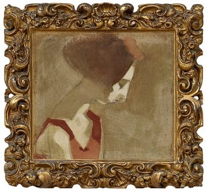 Girl With A Swan Neck by Helene SCHJERFBECK