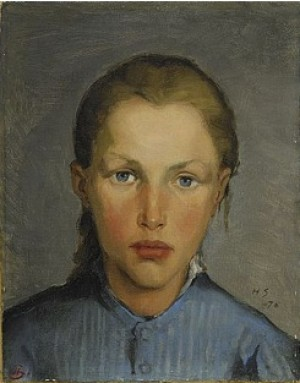 Arbetarflicka by Helene SCHJERFBECK