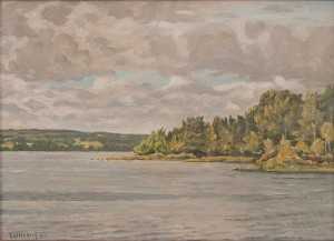 Insjö Och Landskap by Ossian GYLLENBERG