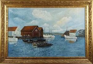 Skärgårdsmotiv by Stig ASPELIN