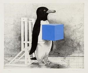 Pingvin Med Kub by Pär Gunnar 'P. G.' THELANDER