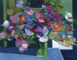 Fleurs Au Jardin by Camille HILAIRE