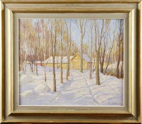 Vinterlandskap by Peter KURBATOV