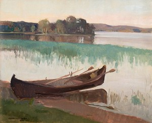 Summermorning In Viitasaari by Wilho SJÖSTRÖM