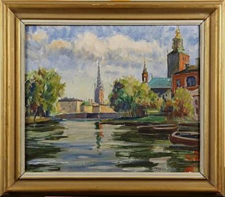 Klara Sjö by Axel HAMBORN