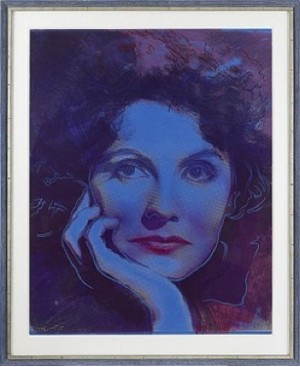 Greta Garbo: Dreaming by Andy WARHOL