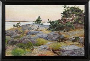 Skärgårdsmotiv by Fanny BRATE