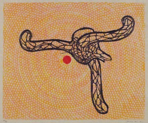 Affiche Pour L'orangerie, Exposition Max Ernst Du 2 Avril Au 31 Mai 1971 by Max ERNST