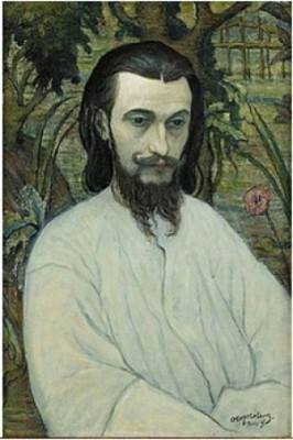 Skulptören Pierre Félix Masseau,