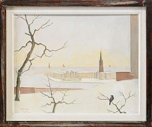 Utsikt Från Ateljén by Einar JOLIN