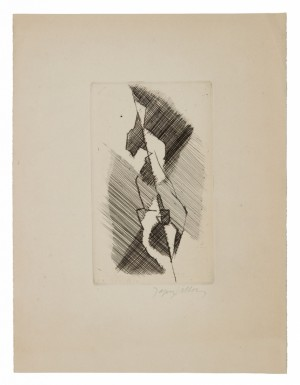 L' équilibriste. 1956 - 57 by Jacques VILLON