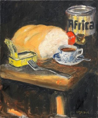 Ateljémåltid by Peter DAHL