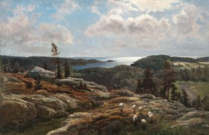 View From Ladoga by Berndt LINDHOLM