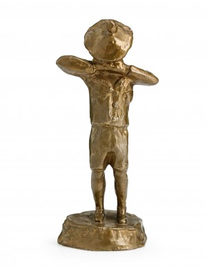 Den Gråtande Gossen (föreställande Sonen Hans Strindberg) by August STRINDBERG