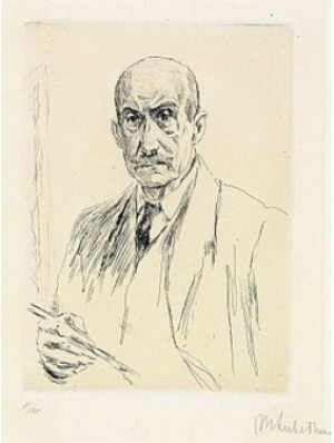 Selfportrait by Max LIEBERMANN