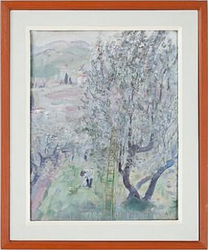 Olivskörd by Alvar JANSSON