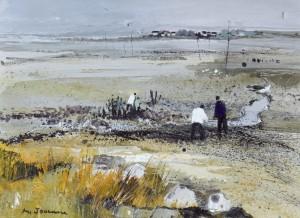 Marée Basse à Mesquière by Michel JOUENNE