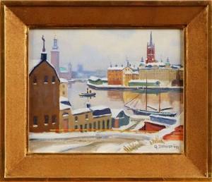 Utsikt Från Södermälarstrand by Gunnar ZETTERSTRÖM