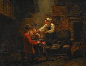 Middagstid I Stugan by Bengt NORDENBERG