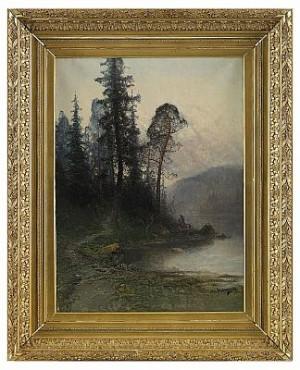 Skogsstigen by Johan 'John' KINDBORG