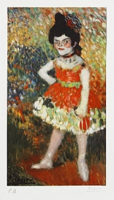 Barcelona Suite: Dwarf Dancer by Pablo PICASSO