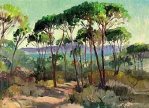 Paysage Mediterraneen by Constantin KLUGE