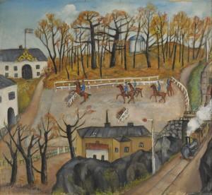 Karlbergs Ridbana by Eric HALLSTRÖM
