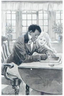 Skrivlektion - Illustration Till Onkel Toms Stuga by Jenny NYSTRÖM