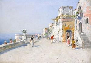Motiv Från Venedig by Frans Wilhelm ODELMARK