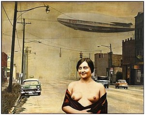 Street And Nude by Guy JOHNSON