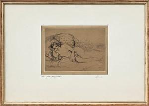 Vilande Modell by Pierre Auguste RENOIR