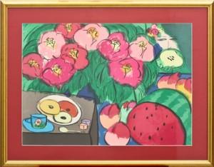 Komposition Med Blommor by Walasse TING