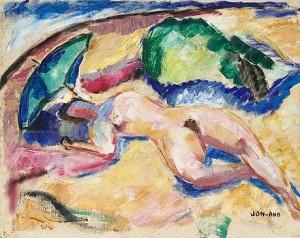 Kvinna, Gullholmen by John 'Jon' JON-AND