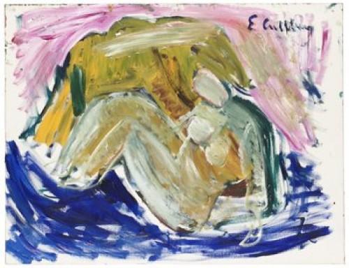 Kvinna by Erland CULLBERG