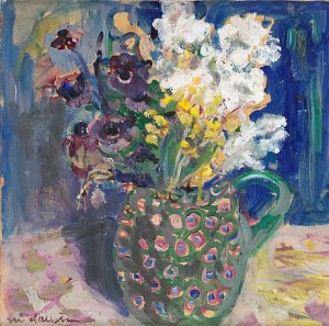 Blommor by Eric HALLSTRÖM