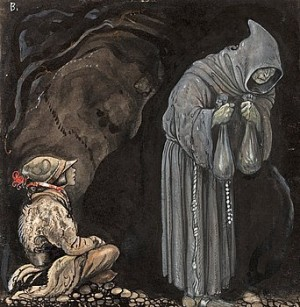 Nilas Offer, Julbocken (iii) by John BAUER