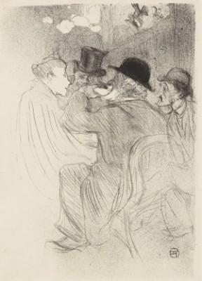 Au Moulin Rouge, Un Rude! ... Un Vrai Rude! by Henri De TOULOUSE-LAUTREC