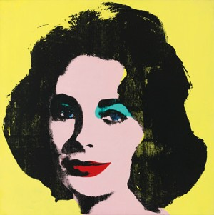 Liz #1 (early Colored Liz) by Andy WARHOL