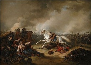 Gustaf Ii Adolfs Häst Streiff Vid Slaget I Lützen by Carl Fredrik KIÖRBOE